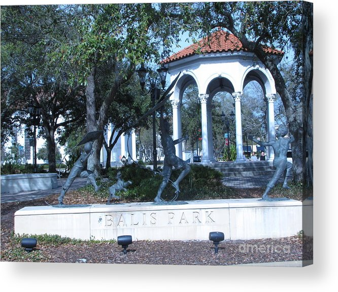 Park Acrylic Print featuring the photograph San Marco 5 by William Bryant