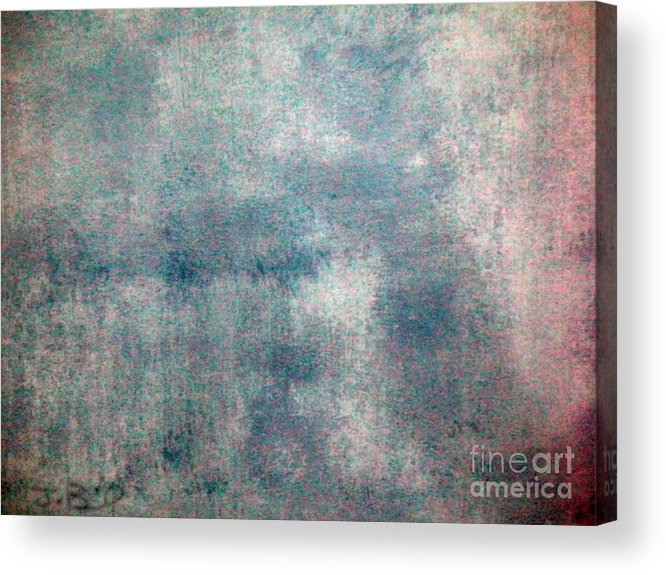 Sponged Acrylic Print featuring the painting Sponged by Joseph Baril