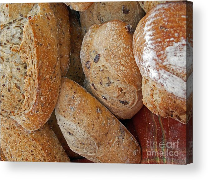 Food Acrylic Print featuring the photograph Staff Of Life by Skip Willits