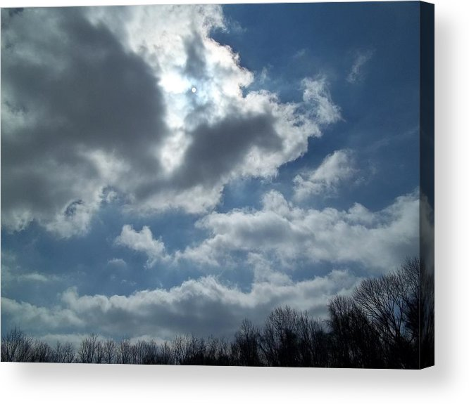 Sun Shine Acrylic Print featuring the photograph Sun Almost by Eric Switzer