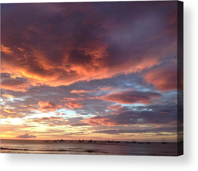 Costa Acrylic Print featuring the photograph Tamarindo by Thomas Mendise