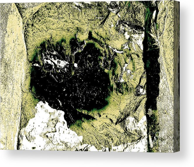 Abstract Acrylic Print featuring the photograph Texture No.2 Effect 7 by Fei A