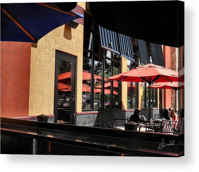 Photograph Acrylic Print featuring the photograph Under The Umbrella by T Cook