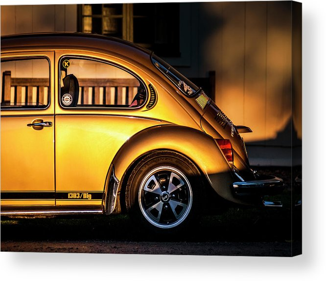 Volkswagen Acrylic Print featuring the photograph Vw by Benny Pettersson