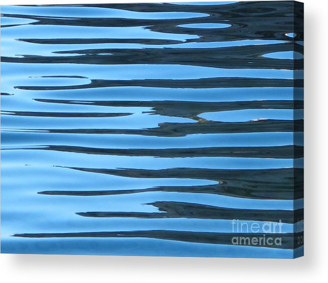 Calanque De Cassis Acrylic Print featuring the photograph Water At Calanques De Cassis by Luis Moya