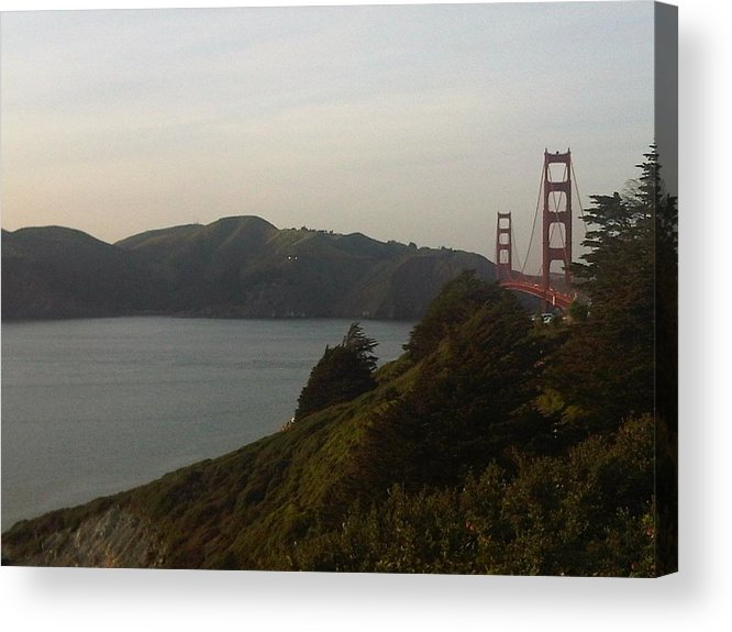 Marin Headlands Acrylic Print featuring the photograph Marin Headlands by Nimmi Solomon