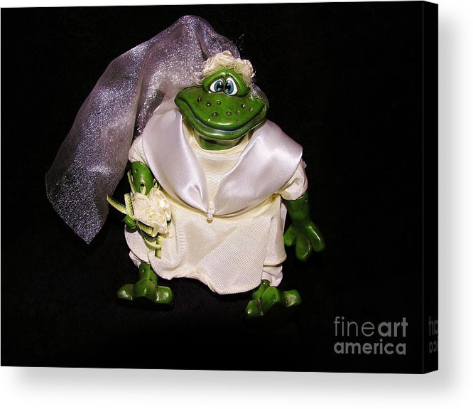 Green Acrylic Print featuring the photograph The Green Bride by Sherman Perry