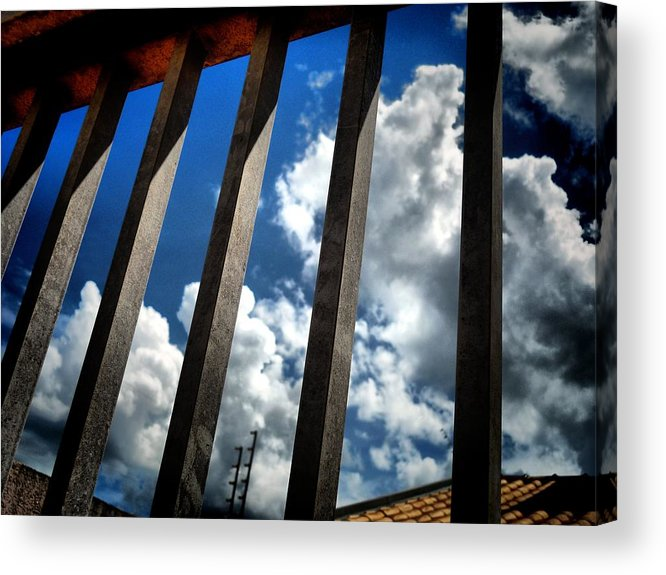 Sky Acrylic Print featuring the photograph Freedon by Beto Machado