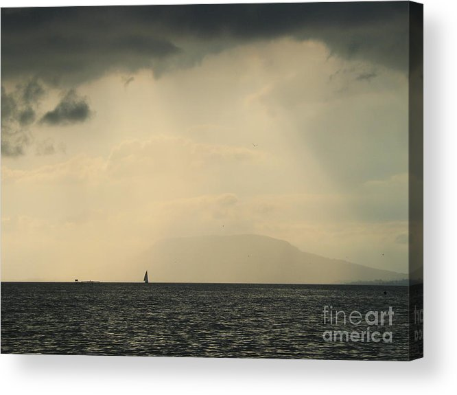 Attack Acrylic Print featuring the photograph Storm by Odon Czintos