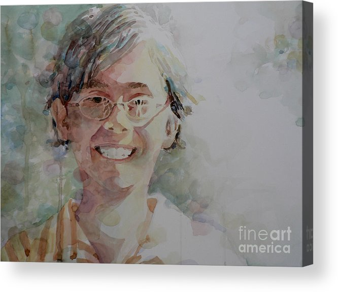 Acrylic Print featuring the painting A Good Kid by Catalina Rankin
