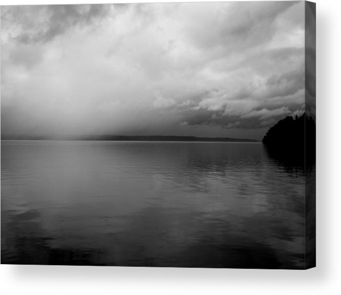 Lake Acrylic Print featuring the photograph A View South Sound II by Grace Art Photography