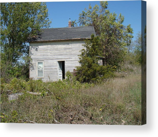 Abandoned Acrylic Print featuring the photograph Abandoned by Bonfire Photography