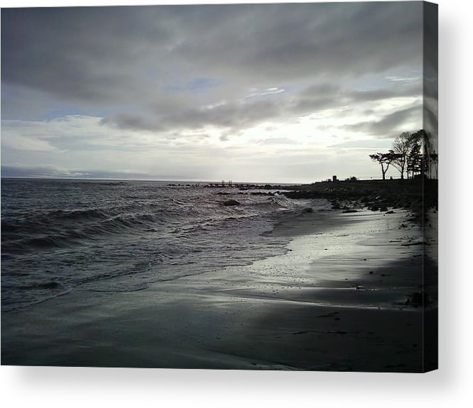 Hurricane Irene Acrylic Print featuring the photograph After The Storm by Jennifer Lamb