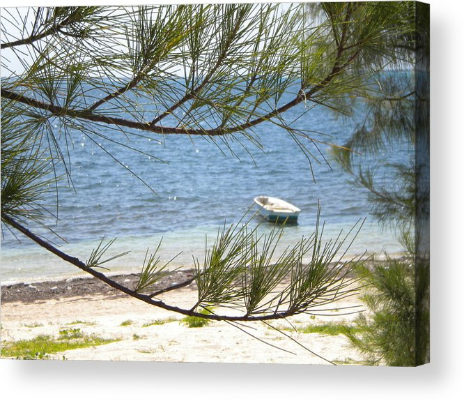 Cayman Islands Acrylic Print featuring the photograph Alone In Peace by Patricia Williams