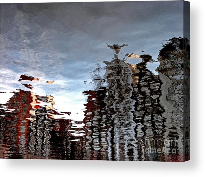 Amsterdam Acrylic Print featuring the photograph Amsterdam Reflections by Andy Prendy