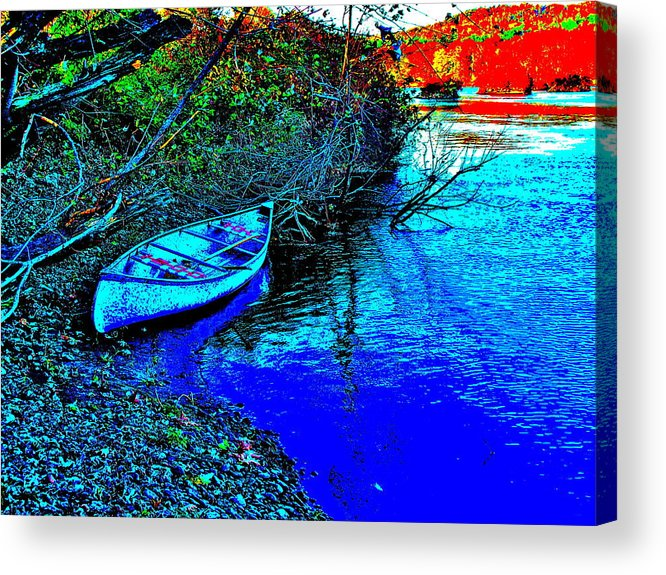 Landscape Acrylic Print featuring the photograph Andy River 17 by George Ramos