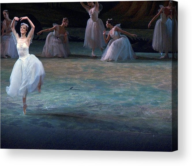 Commonwealth Of Independent States Acrylic Print featuring the photograph Ballerinas At The Vaganova Academy by Richard Nowitz