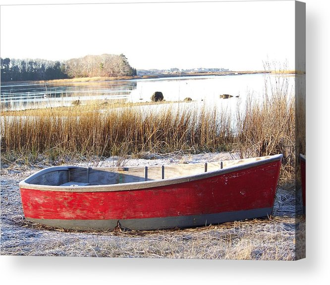 Acrylic Print featuring the photograph Beached by John Doble