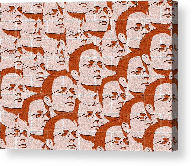 Benjamin Acrylic Print featuring the digital art Benjamins by Benjamin Kerr