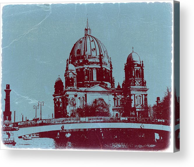 Berlin Cathedral Acrylic Print featuring the photograph Berlin Cathedral by Naxart Studio