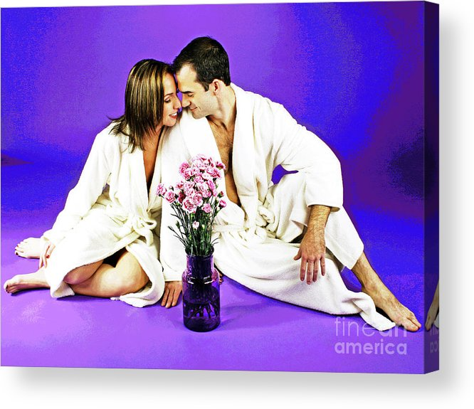 Spa Acrylic Print featuring the photograph Between Spa by Larry Oskin