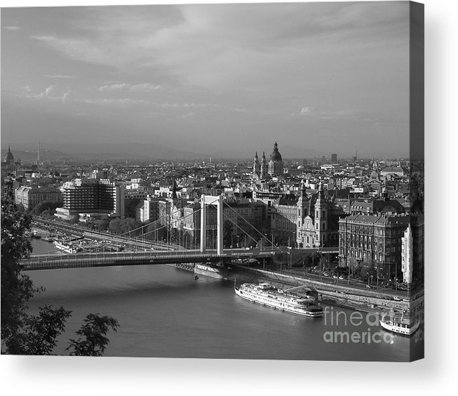 Architecture Acrylic Print featuring the photograph Budapest by Odon Czintos