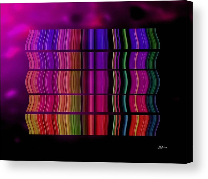 Cabaret Acrylic Print featuring the digital art Cabaret by Greg Reed Brown