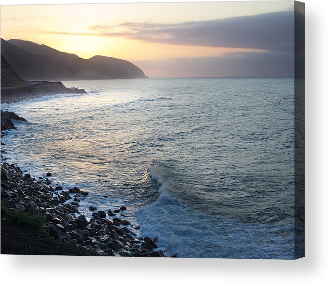 Sunrise Acrylic Print featuring the photograph California Sunrise by Kittysolo Photography