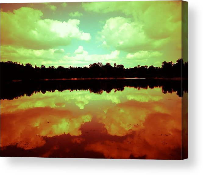 Calm Waters Acrylic Print featuring the photograph Calm Waters by Beth Akerman