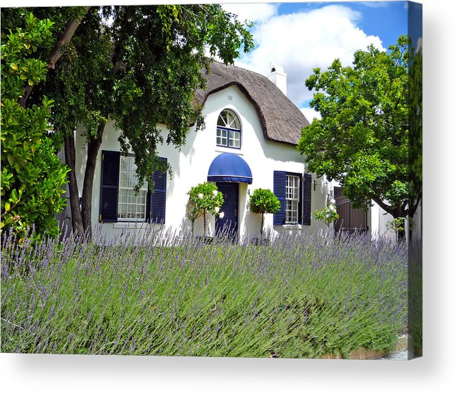 Africa Acrylic Print featuring the photograph Cape Dutch Cottage by Paul Fell