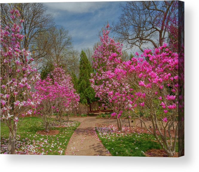 Cheekwood Gardens Acrylic Print featuring the photograph Cheekwood Gardens by Charles Warren