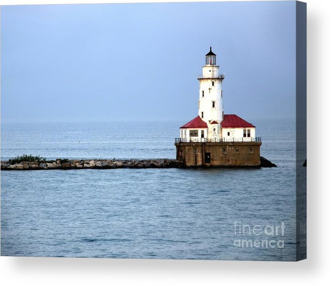Chicago Acrylic Print featuring the photograph Chicago Lighthouse by Sophie Vigneault