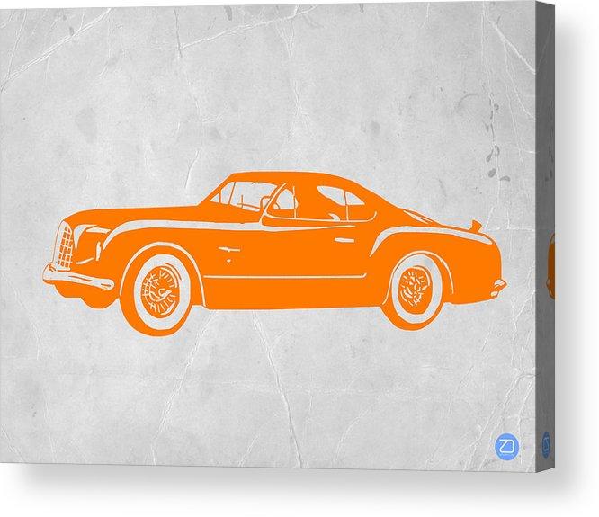 Classic Car Acrylic Print featuring the photograph Classic Car 2 by Naxart Studio