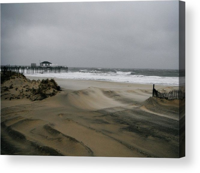 Jersey Shore Acrylic Print featuring the photograph Coastal Northeastern by William Walker