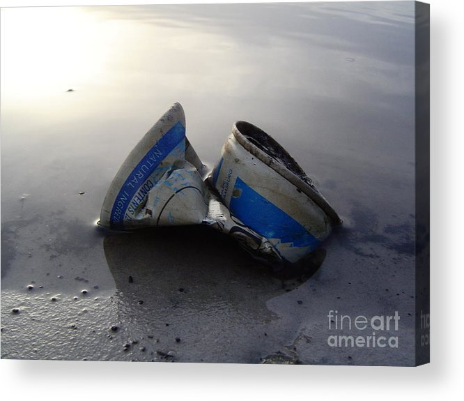 Posted Acrylic Print featuring the photograph Crushed by Jack Norton