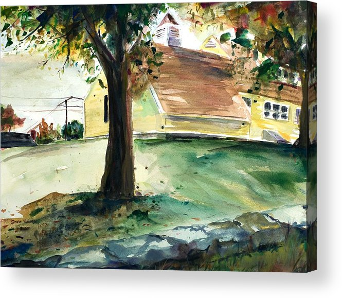 Yard Acrylic Print featuring the painting Cupola by Scott Nelson