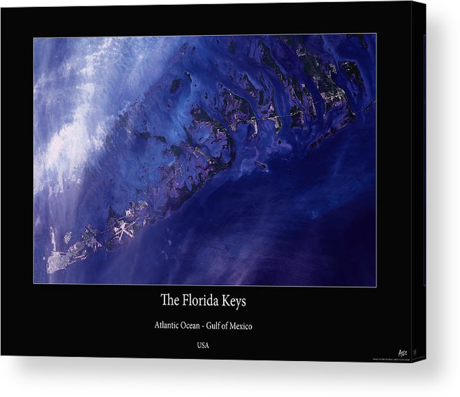 Florida Keys Acrylic Print featuring the photograph Florida Keys by Adelaide Images