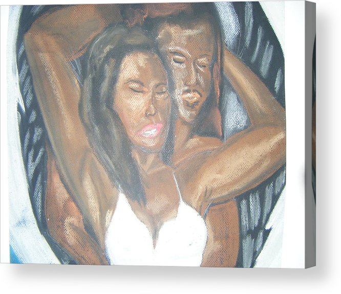 Acrylic Print featuring the painting For Love by Walter Harris
