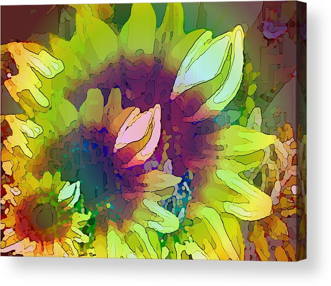 Family Acrylic Print featuring the digital art Generations by Tim Allen