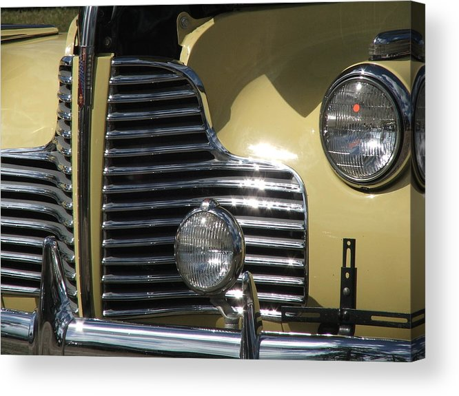 Cars Acrylic Print featuring the photograph Grille by Renata Mayes