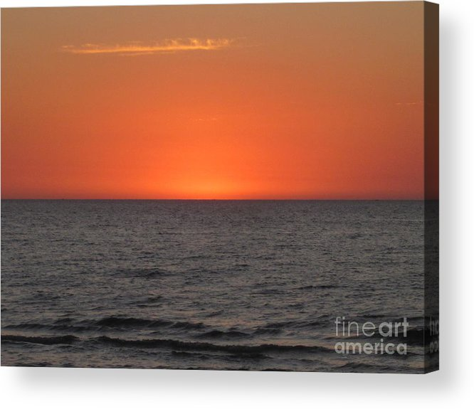 Acrylic Print featuring the photograph Hot Night by Miss McLean
