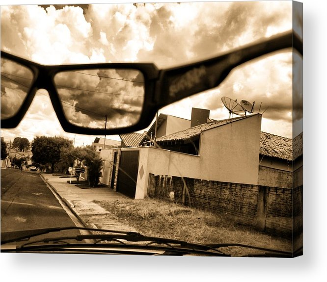 Sky Acrylic Print featuring the photograph Invisible Man by Beto Machado