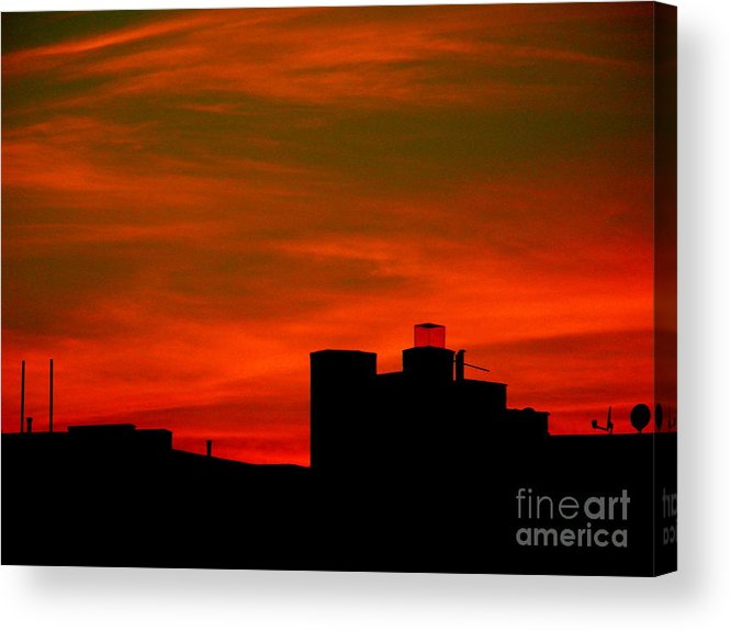 Sunset Acrylic Print featuring the photograph June 2 2009 by Mark Gilman