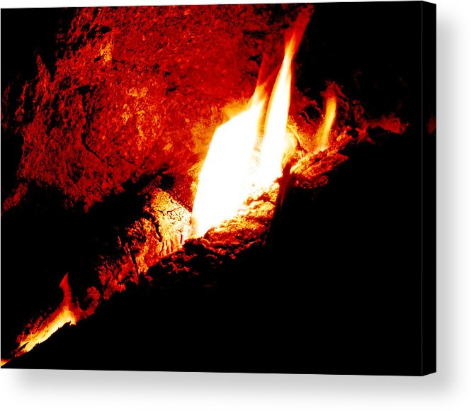 Light And Heat Acrylic Print featuring the photograph Light And Heat by Steve Taylor