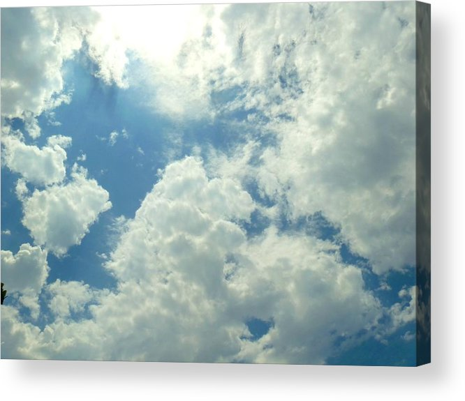 Sun Acrylic Print featuring the photograph Light From Above by Paul Michael Light