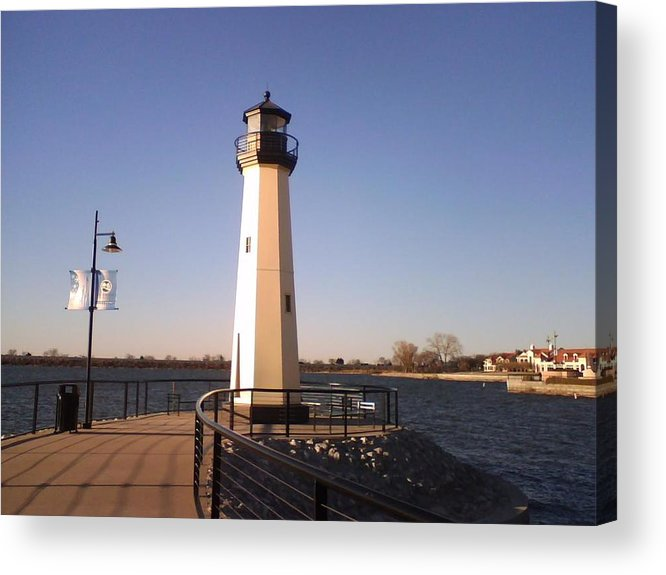 Landscape Acrylic Print featuring the photograph Lighthouse by Duy Tran