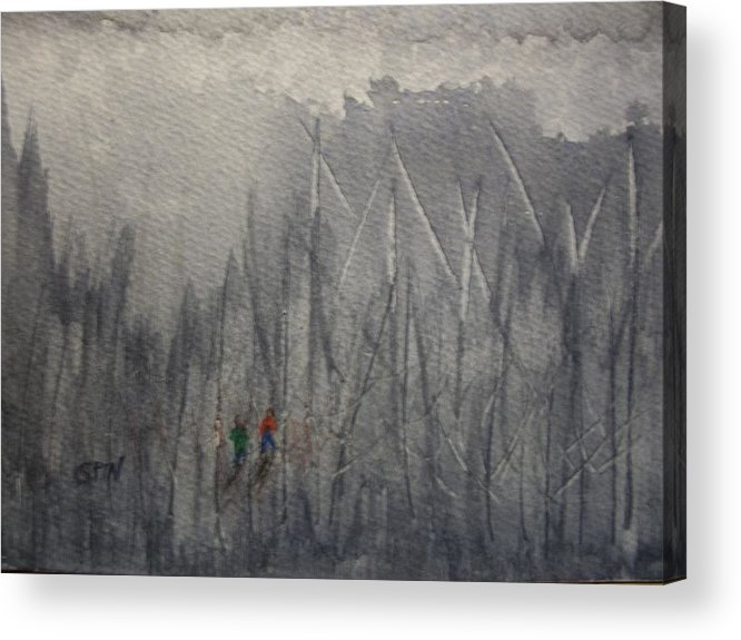 Lost Acrylic Print featuring the painting Lost by Spencer Joyner