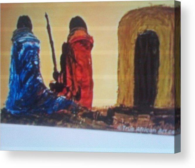 Acrylic Print featuring the painting Manyatta by John