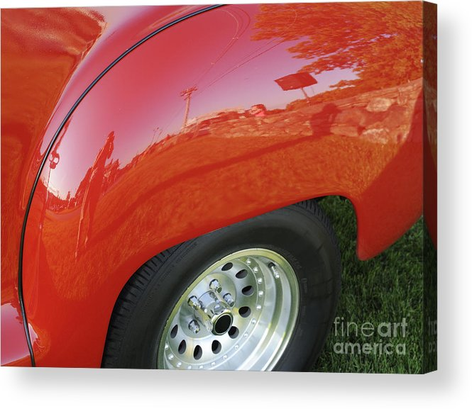 Fender Acrylic Print featuring the photograph Microcosm by Luke Moore