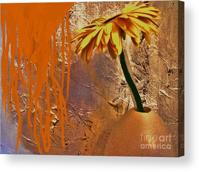 Photo Acrylic Print featuring the photograph Nerve Pain by Marsha Heiken